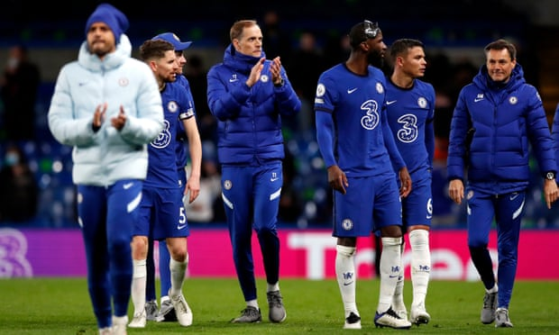 Tuchel hails fans for win over Leicester but urges Chelsea to finish job at Villa