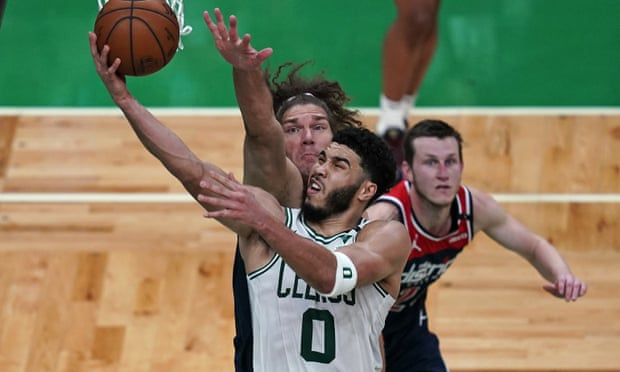NBA play-in tournament: Tatum's 50 lift Celtics to No 7 seed as Pacers romp